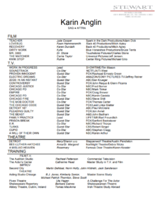 karin anglin theatrical resume